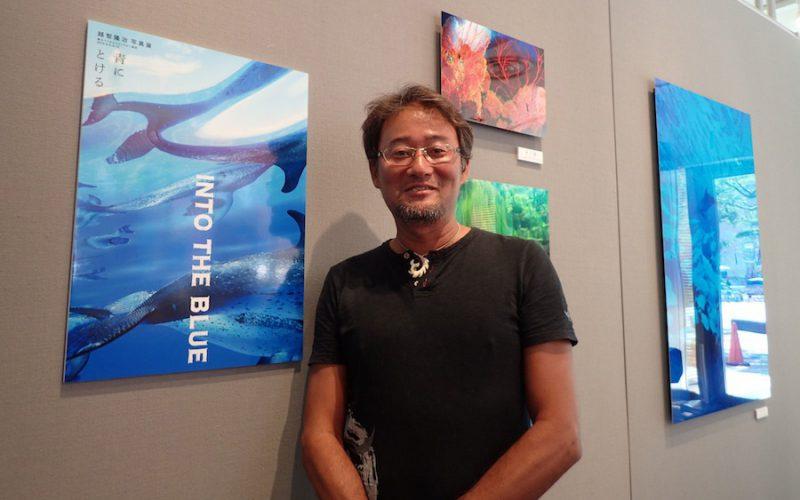 越智隆治水中写真展、六本木で5月12日まで開催中