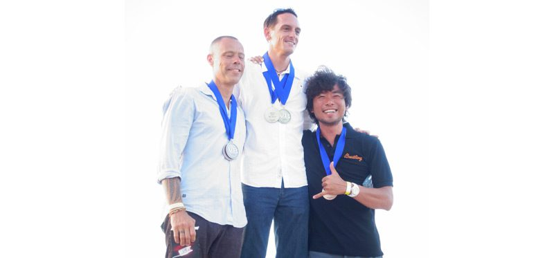 篠宮龍三さんがフリーダイビング世界大会で銅メダルを獲得