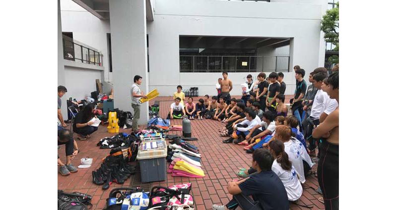 大学生対象の器材モニター会、開催