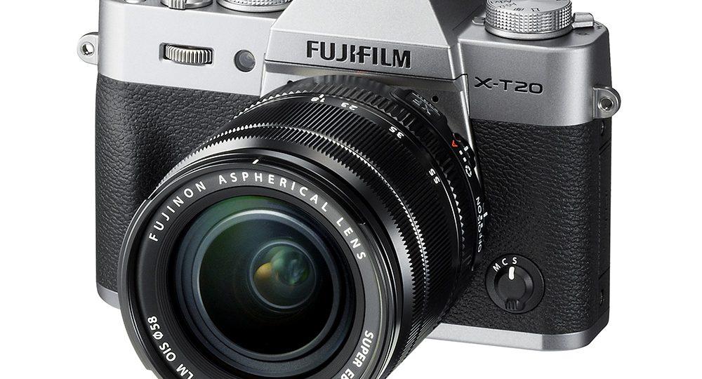 「FUJIFILM X-T20」