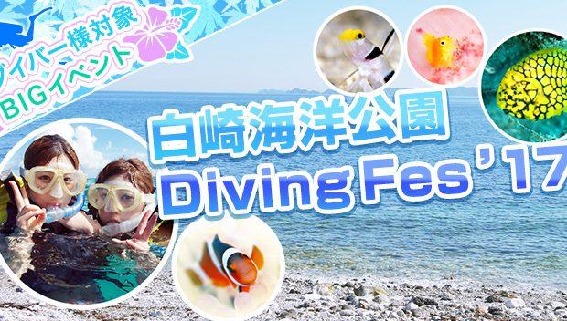 白崎海洋公園 Diving Fes'17開催!