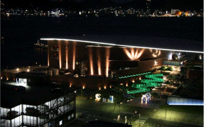 GW恒例「夜の水族館」を開催 しものせき水族館海響館