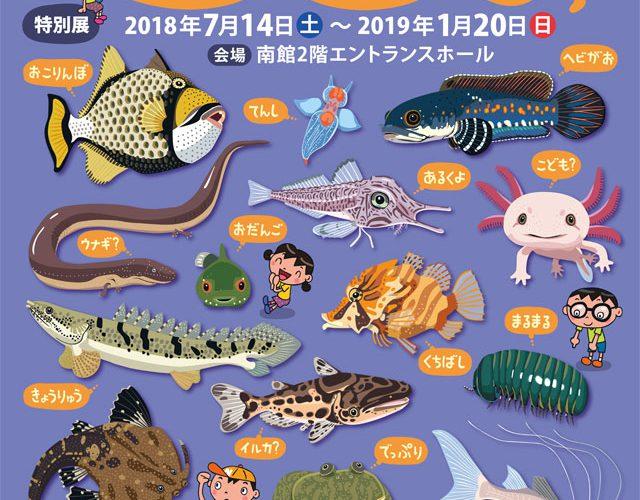 名古屋港水族館で、へんカワ展