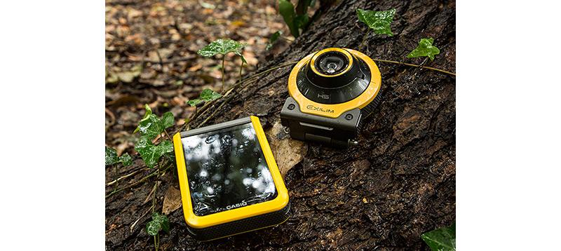 躍動感あるシーンを高画質で撮れる「Outdoor Recorder」12/11発売