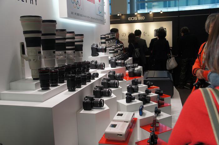 キヤノン デジタルカメラ新製品発表会開催