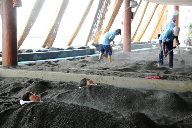 DIVER ONLINE 鹿児島 ダイビング 砂むし温泉